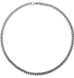 Steelx Steelx Stainless Steel 8mm Curb Chain 22""