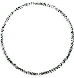 "Steelx Steelx Stainless Steel 8mm Curb Chain 22"""
