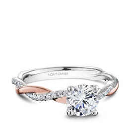 Noam Carver Noam Carver Bridal Diamond Mount Rose and White Gold
