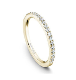 Noam Carver Noam Carver Matching Diamond Yellow Gold Band to B017-01YA