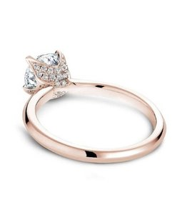 Noam Carver Noam Carver Rose Gold Diamond Mount