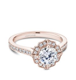 Noam Carver Noam Carver Rose Gold Diamond Mount Vintage Ring