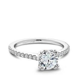 Noam Carver Noam Carver White Gold Diamond Mount Ring