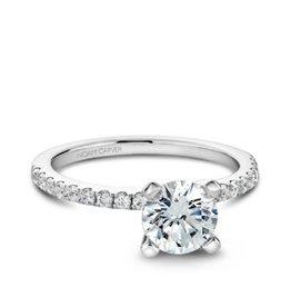 Noam Carver Noam Carver Bridal Diamond Mount 14K White Gold