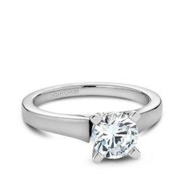 Noam Carver White Gold Solitare Mount Ring