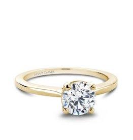 Noam Carver Noam Carver 14K Yellow Gold Solitaire Mount Ring