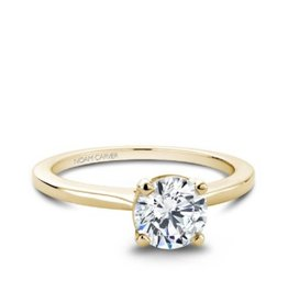 Noam Carver Noam Carver Yellow Gold Solitare Mount Ring