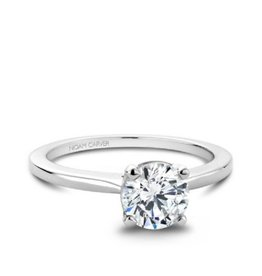 Noam Carver Noam Carver 14K White Gold Solitaire Mount Ring