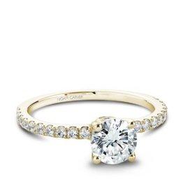 Noam Carver Noam Carver Yellow Gold Diamond Mount Ring