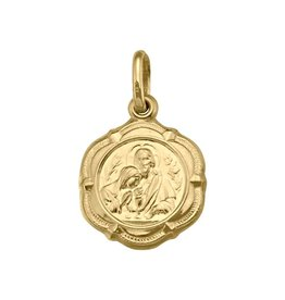 Gold Communion (Medium)  Medal Pendant (10K ,14K, 18K)