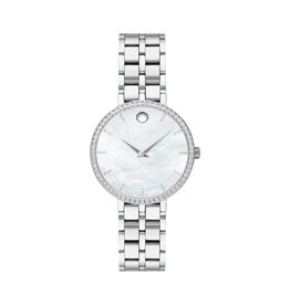 Movado Movado Kora Ladies Stainless Steel Watch with Diamonds