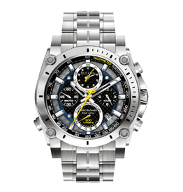 Bulova Bulova Precisionist Mens Stainless Steel Watch With Chronograph