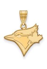 MLB Licensed MLB Licensed Toronto Blue Jays Medium 10K Yellow Gold Pendant