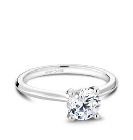 Noam Carver Noam Carver White Gold Solitare Mount Ring