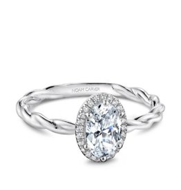 Noam Carver Noam Carver Bridal Diamond Mount White Gold