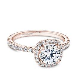 Noam Carver Noam Carver Bridal Rose Gold Diamond Mount