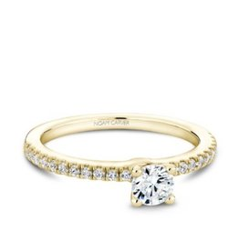 Noam Carver Noam Carver Solitare Engagement (0.46ct) Diamond Ring