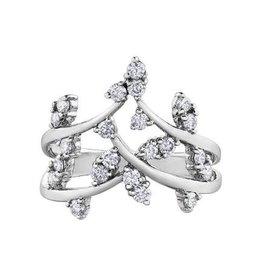 10K White Gold (0.50ct) Diamond Ring