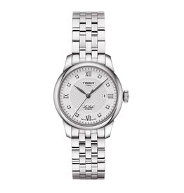 Tissot Tissot Ladies LE LOCLE Automatic Stainless Steel Watch with Diamonds