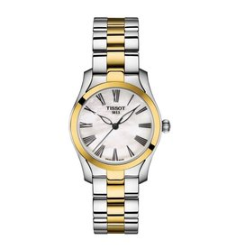 Tissot Tissot T-Wave II Ladies Watch with Two Tone and Mother of Pearl Dial