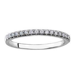 18K White Gold Diamond Matching Band