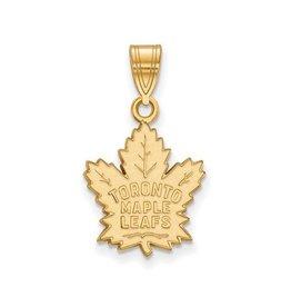 NHL Licensed NHL Licensed Medium Maple Leafs Pendant Sterling Silver GP