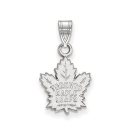 NHL Licensed NHL Licensed (Small) Maple Leafs 10K White Gold