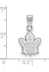 NHL Licensed NHL Licensed (Small) Maple Leafs 10K White Gold