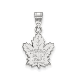 NHL Licensed NHL Licensed (Medium) Maple Leafs 10K White Gold