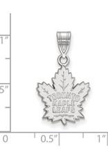 NHL Licensed NHL Licensed (Medium) Maple Leafs 10K White Gold