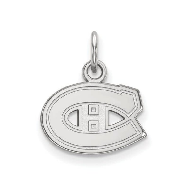 NHL Licensed NHL Licensed (XSmall) Montreal Canadiens 10K White Gold