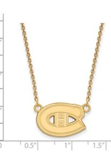 NHL Licensed NHL Licensed (Medium) Montreal Canadiens Sterling Silver GP Necklace