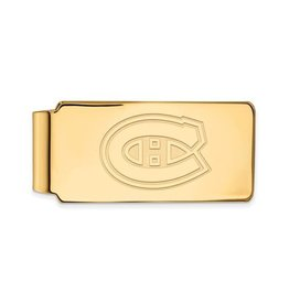 NHL Licensed NHL Licensed Montreal Canadiens Sterling Silver GP Money Clip