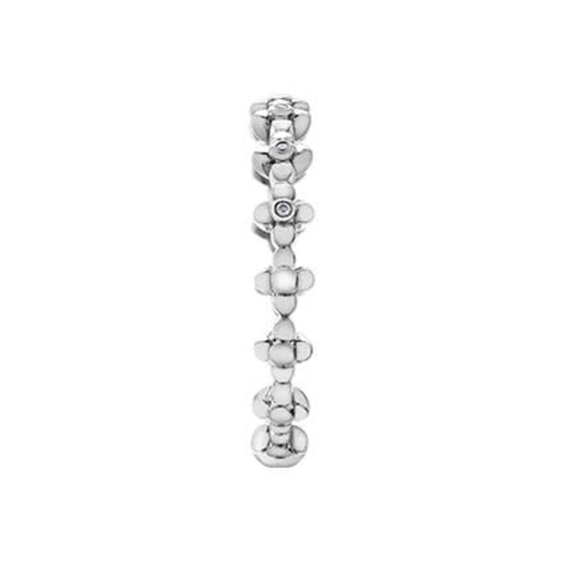White Gold Diamond Stackable Ring (0.02ct)