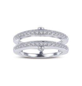 Lafonn Lafonn Silver Ring Jacket Enchancer Set with Simulated Diamonds