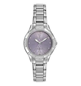 Citizen Citizen Silhouette Diamond Lavender Dial Ladies Eco Drive Watch