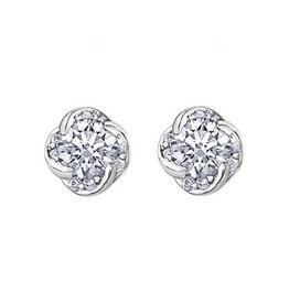 Maple Leaf Diamonds Winds Embrace (0.10ct) Canadian Diamond Earrings