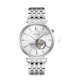 Bulova Bulova Classic Mens Automatic Silver Tone Watch