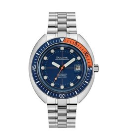 Bulova Bulova Archive Series Mens Automatic Blue Dial Oceanographer Divers Watch