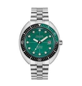 Bulova Bulova Archive Series Mens Automatic Green Dial Oceanographer Divers Watch