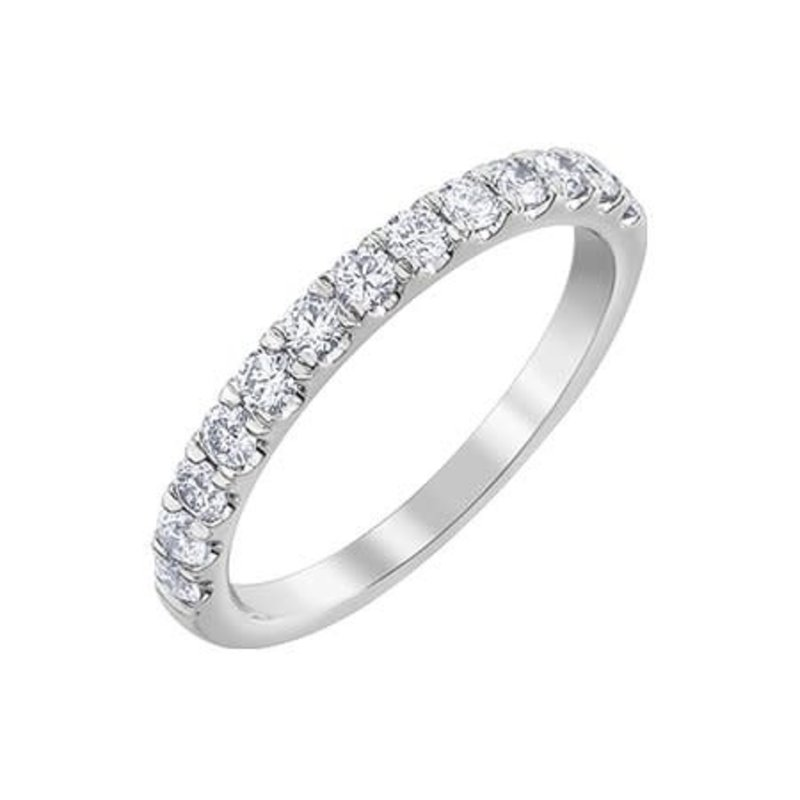 White Gold Diamond (0.50ct) Anniversary Band