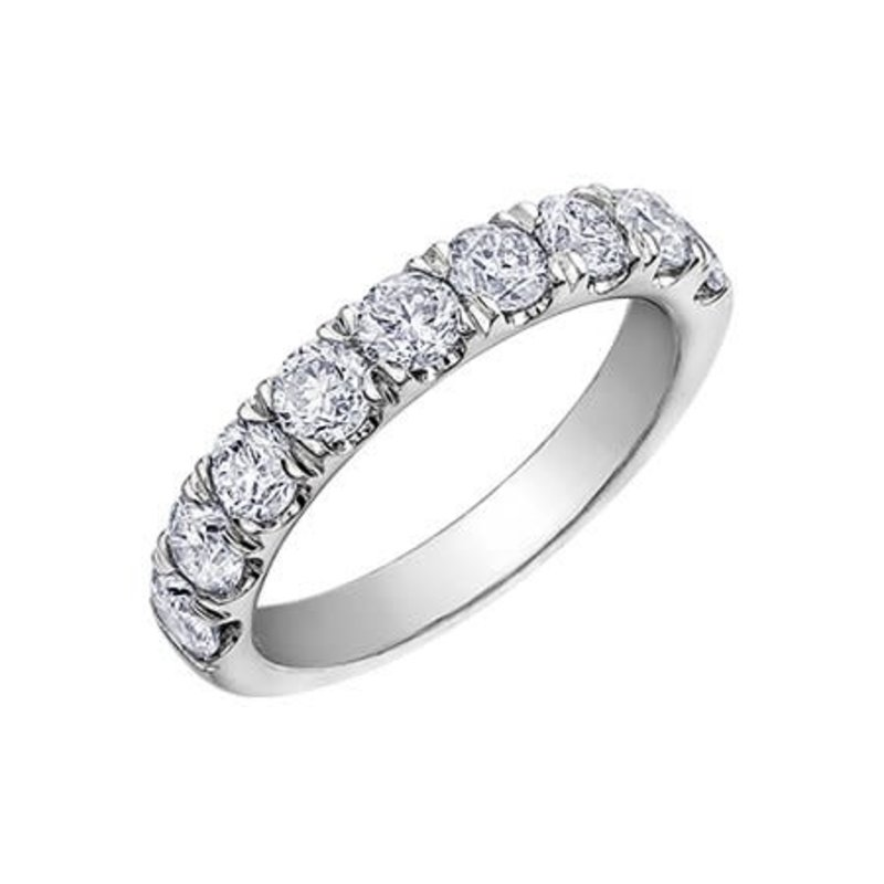 10K White Gold (1.50ct) Diamond Anniversary Band
