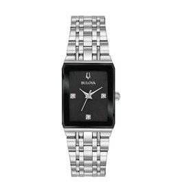 Bulova Bulova 96P202 Ladies Futura Diamond Dial Watch