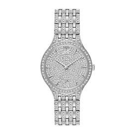 Bulova Bulova Crystal Ladies Silver Tone with Pave Dial Watch