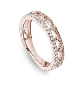Noam Carver Noam Carver Stackable Diamond 14K Rose Gold Band