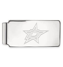 NHL Licensed NHL Licensed Dallas Stars Sterling Silver Money Clip