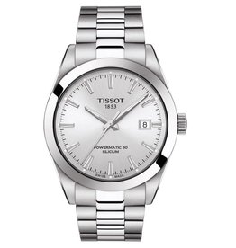 Tissot Tissot Powermatic 80 Silicium Mens Silver Tone  Watch