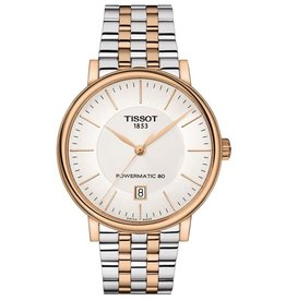 Tissot Tissot Carson Premium Powermatic 80 Mens Two Tone Watch