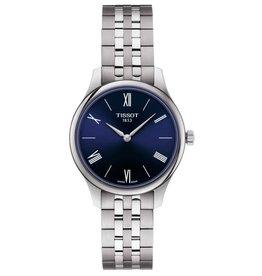 Tissot Tissot Tradition Ladies Silver Tone Blue Dial Watch