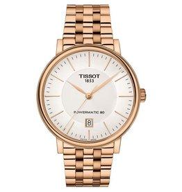 Tissot Tissot Carson Premium Powermatic 80 Mens Rose Tone Watch
